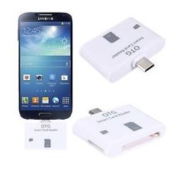 Adaptador lector SD y Micro SD OTG a Micro USB