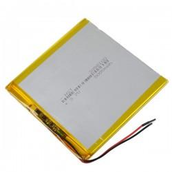 Bateria para tablet china 5000mAh 3.7V 100 x 98 x 3mm