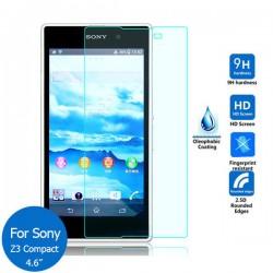 Protector cristal templado Sony Xperia Z3 Compact Mini D5803 D5833 M55W