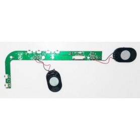 Placa botones BS-MB6EG-KEY V 1.0 con altavoces AIRIS OnePAD 1100x2