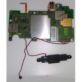 Placa base A3000 MB PCB V3 con boton de power, altavoz y tornillos Lenovo IdeaTab A3000