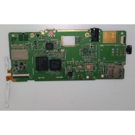 Placa base con boton de power y de volumen y con tornillos Lenovo IdeaTab A2107 2298
