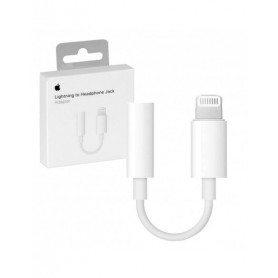 Adaptador Lightning a Jack 3.5mm Original con caja