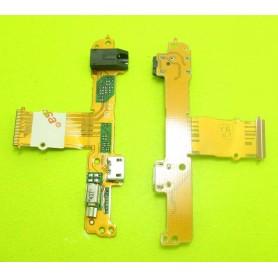 Conector carga flex Huawei MediaPad S10-233L S10-231U S10-231W USB audio
