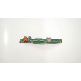Placa USB y conector de audio TF501T IO REV 3.1 Asus Transformer Pad K00C TF701T TF701