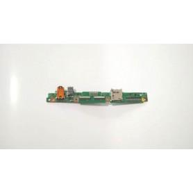 Placa USB y conector de audio TF501T IO REV 3.1 Asus Transformer Pad K00C TF701T TF701