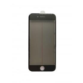Cristal iPhone 8 con marco OCA y film polarizado Original negro