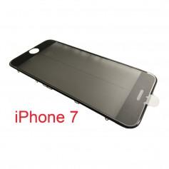 Cristal iPhone 7 con marco OCA y film polarizado Original negro