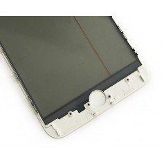 Cristal iPhone 6 con marco OCA y film polarizado Original blanco