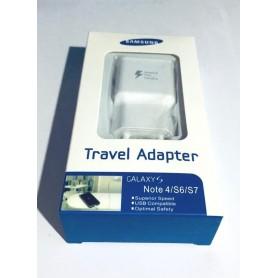 Cargador EP-TA20EWE Samsung Galaxy S6, S7 y Note 4 en caja