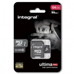 Integral microSD XC 64GB clase 10 ULTIMA PRO UHS-1