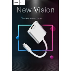 HOCO HB5 Adaptador HDMI a USB tipo C