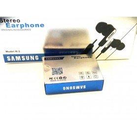 Cascos auriculares Samsung en caja