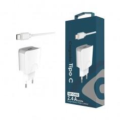 Cargador USB Tipo C 5V 2.4A