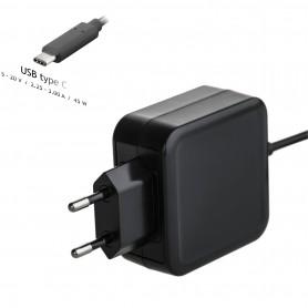 Cargador USB Tipo C 20V 2.25 - 3A 45W