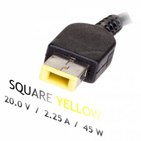 Cargador Square 20V 2.25A 45W Lenovo IdeaPad Yoga 11