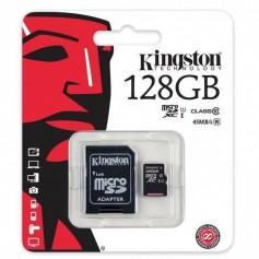 Tarjeta de memoria Kingston microSDXC 128 GB, UHS-I, clase 10