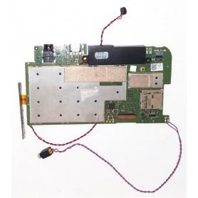 Placa base ADAM P1 MB E170968 con altavoz, vibradorores, conector de audio y USB y botonera Lenovo TAB 2 A7-10