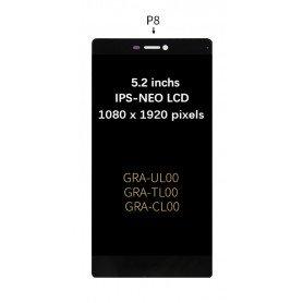Pantalla negra Huawei Ascend P8 GRA-UL00 / -UL10 GRA-L09 GRA-CL10 / CL00