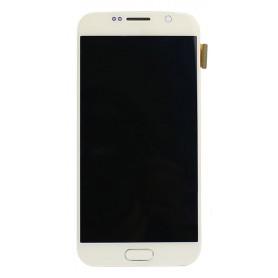 Pantalla con marco Samsung Galaxy S6 SM-G920F oro