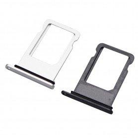 Soporte tarjeta SIM Apple iPhone X Negro