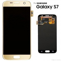 Pantalla dorada Samsung Galaxy S7 G930