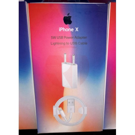 Cargador y cable para iphone X Xs XR Original