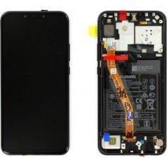 Pantalla con con marco Huawei P Smart Plus Negro 02352BUE