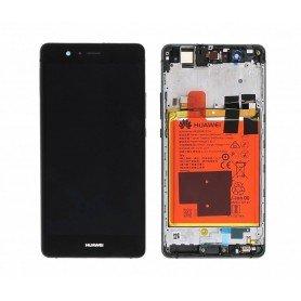 Pantalla con Marco Huawei P9 Lite 02350TRB Negro