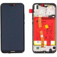 Pantalla con Marco y batería Huawei P20 Lite 02351VPR Negro