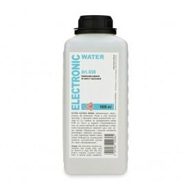 Agua desionizada 036 ultra pura redestilada electrónica