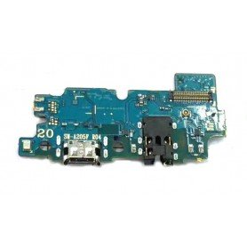 Placa conector carga Samsung Galaxy A20 A205