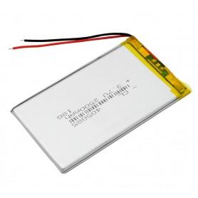Bateria para tablet 2500 mAh 3.7V 89x69x3mm