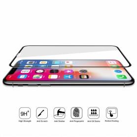 Protector cristal curvado 6D para iPhone XS Max