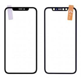 Cristal superior iPhone Xs con pegamento OCA