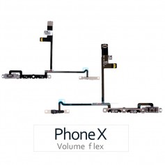 Cable FLEX iPhone X Volumen 821-01130-A1
