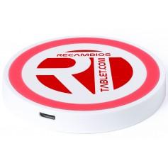 Base cargador universal inalambrico Qi wireless