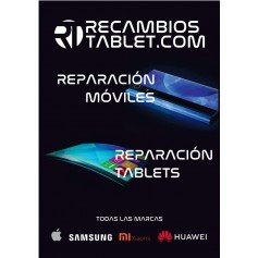 Poster tamaño A3 reparaciones moviles y tablets
