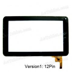 Pantalla tactil para tablet Venus S6600 Unotec Delta