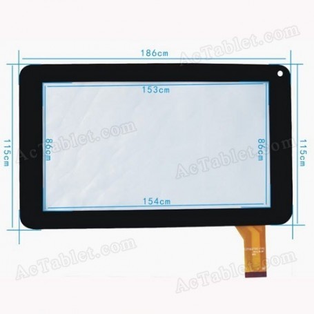 Pantalla tactil digitalizador TABLET Storex eZee Tab 707