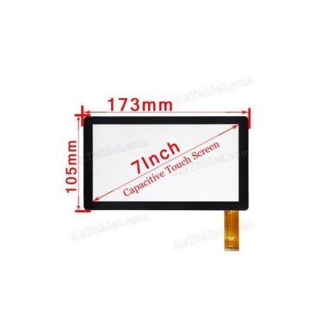 Pantalla tactil digitalizador BSR028-V1 KDX