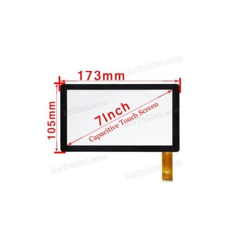 Pantalla tactil digitalizador TABLET MIO MUNDO 7 PULGADAS