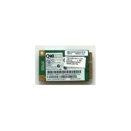 Tarjeta Toshiba l300 w-lan 802.11b g realtek v000120770 rtl8187b