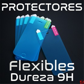 Lote 500 protectores pantalla flexible dureza 9H