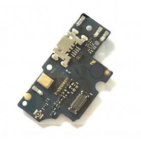 Conector carga bq Aquaris V Plus placa microUSB