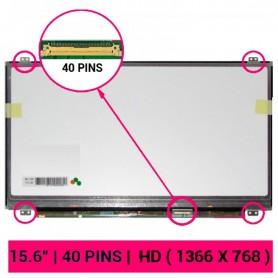 Pantalla LED 1366x768 WXGA 40 pins LVDS Slim LED brillante