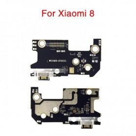 Conector carga AX180601-CY1809C flex Xiaomi Mi8 Mi 8 placa USB