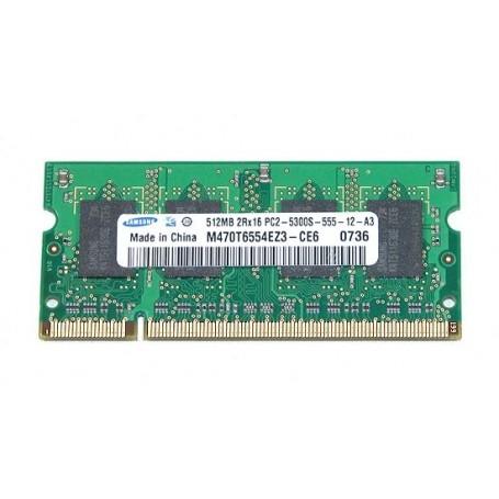 MEMORIA SODIMM 512MB DDR2 667MHz M470T6554EZ3-CE6