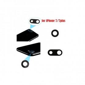 Cristal camara completa con marco iPhone 7 negro