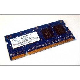MEMORIA SODIMM 512MB DDR2 667MHz NANYA NT512T64UH8B0FN-3C